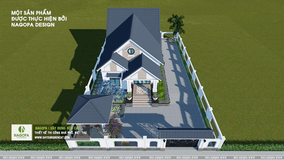 Nhà Cấp 4 Số 001 Nhà Mái Thái Mr.Duy tại xã An Điền 01