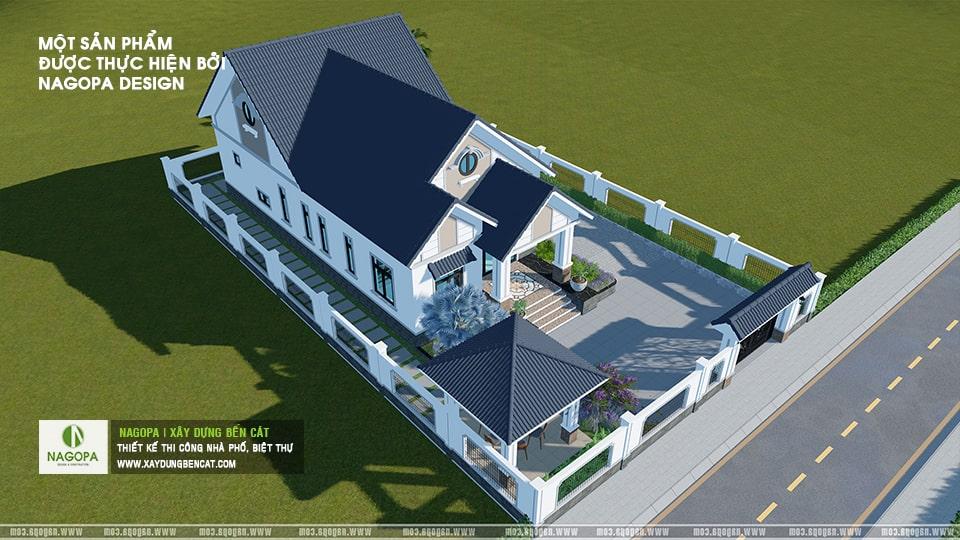 Nhà Cấp 4 Số 001 Nhà Mái Thái Mr.Duy tại xã An Điền 02