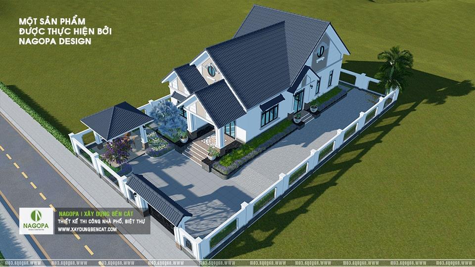 Nhà Cấp 4 Số 001 Nhà Mái Thái Mr.Duy tại xã An Điền 03